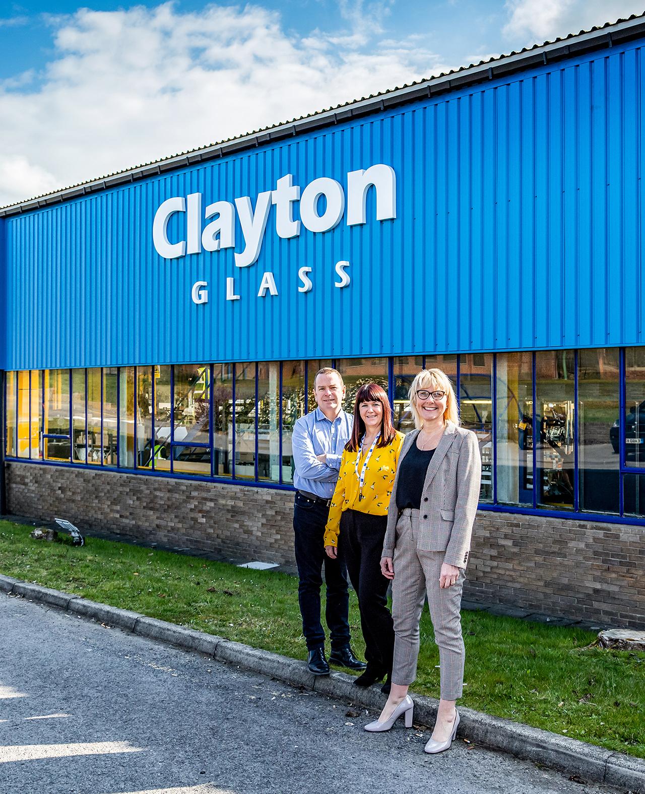 Clayton Glass Partnership with Derwentside College