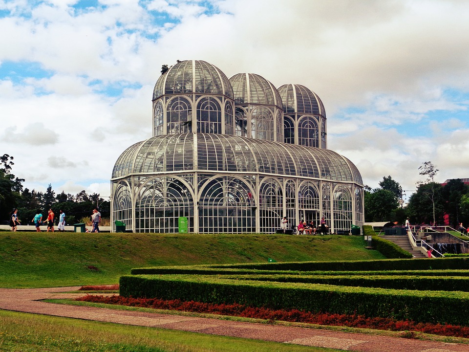 The botanical gardens of Curitiba