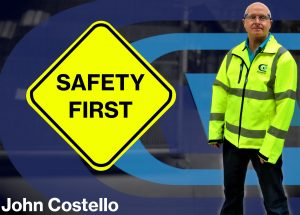 Safety first at Clayton Glass